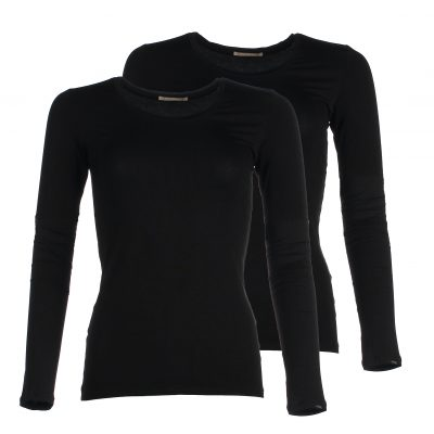 Long Sleeve bamboo shirt - Black
