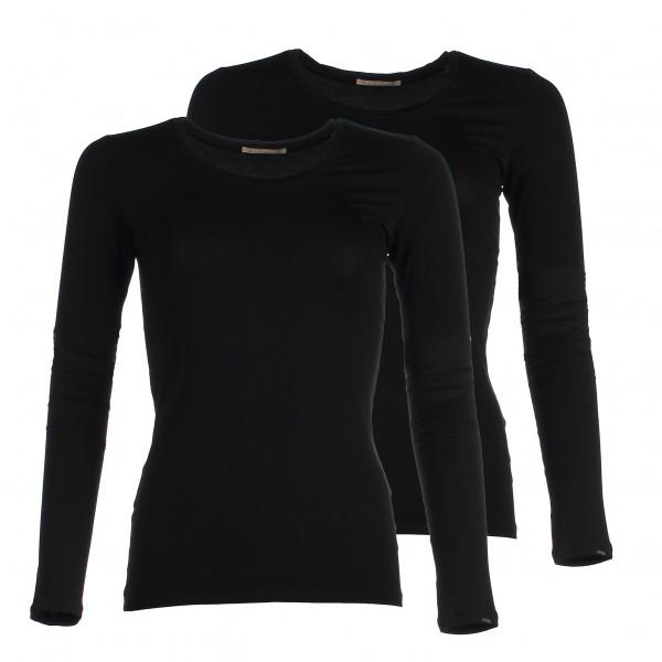 Long Sleeve bamboo shirt - Black