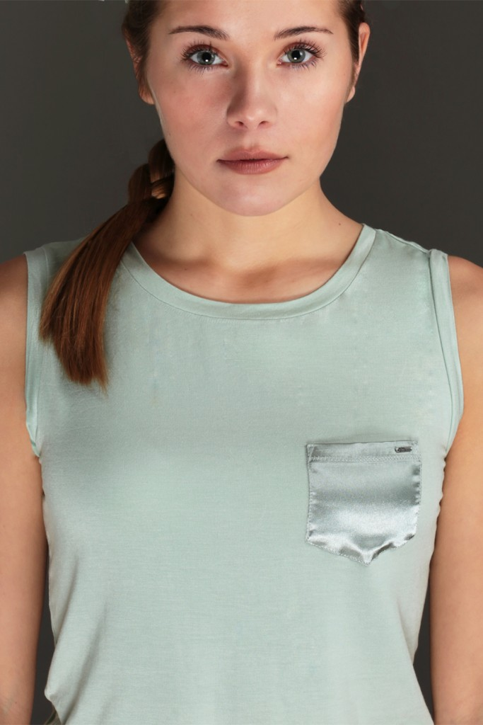 Perfect Timeless jade green top - ROYAL BAMBOO